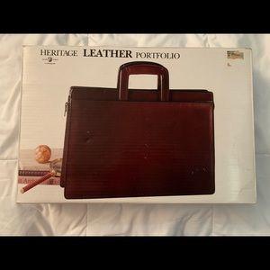 Heritage Leather Portfolio